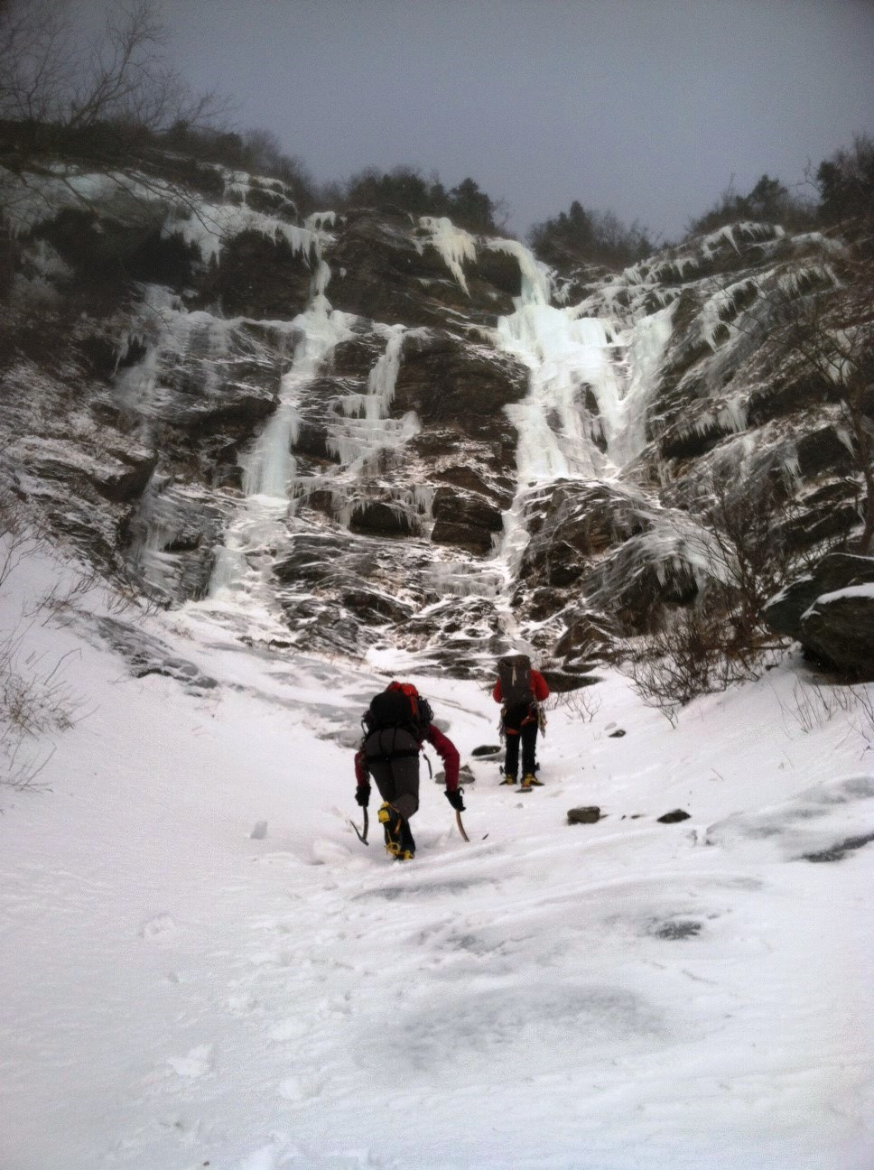 Smuggs Alpine Climbing