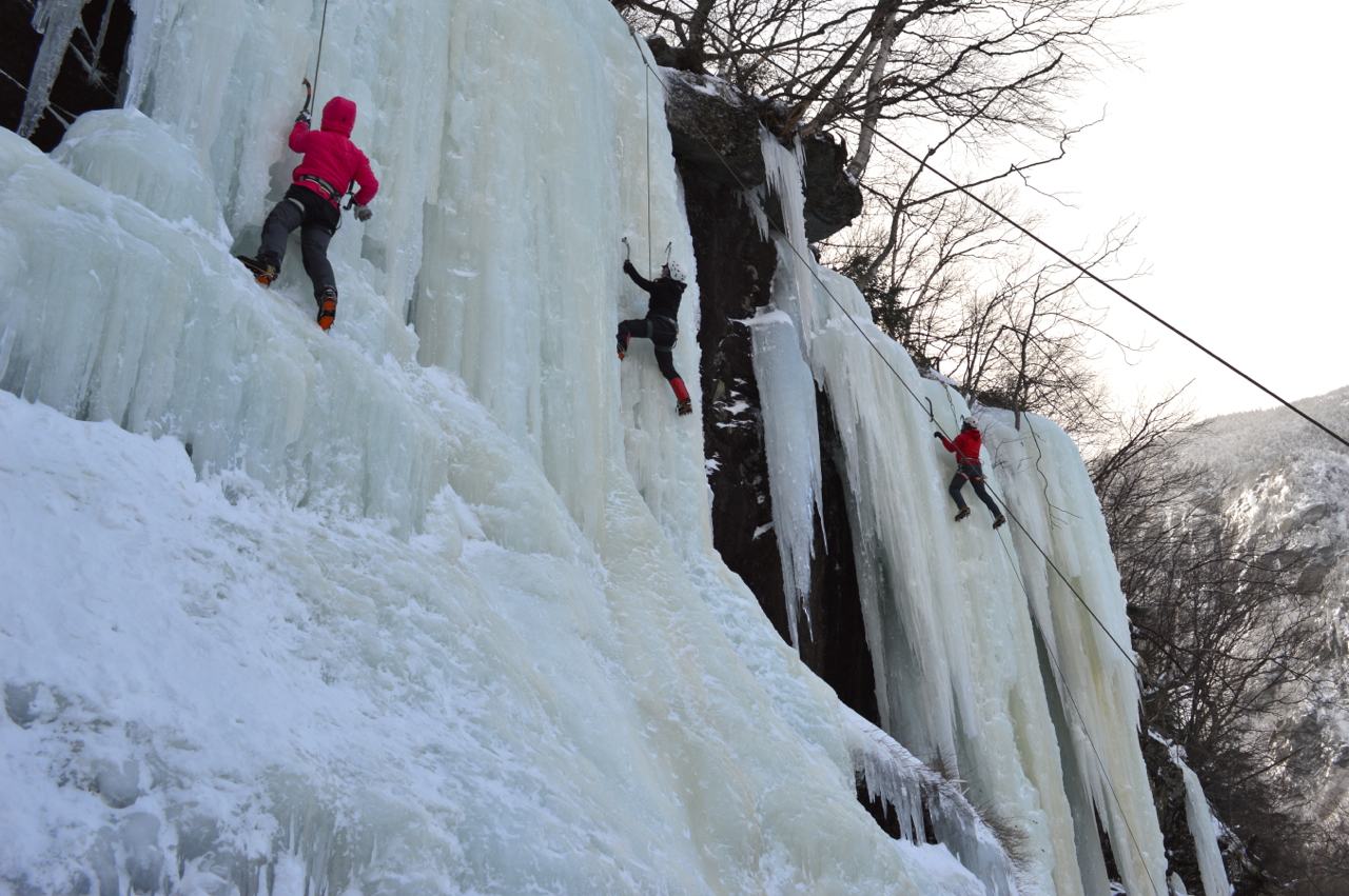 Intro to Ice Climbing